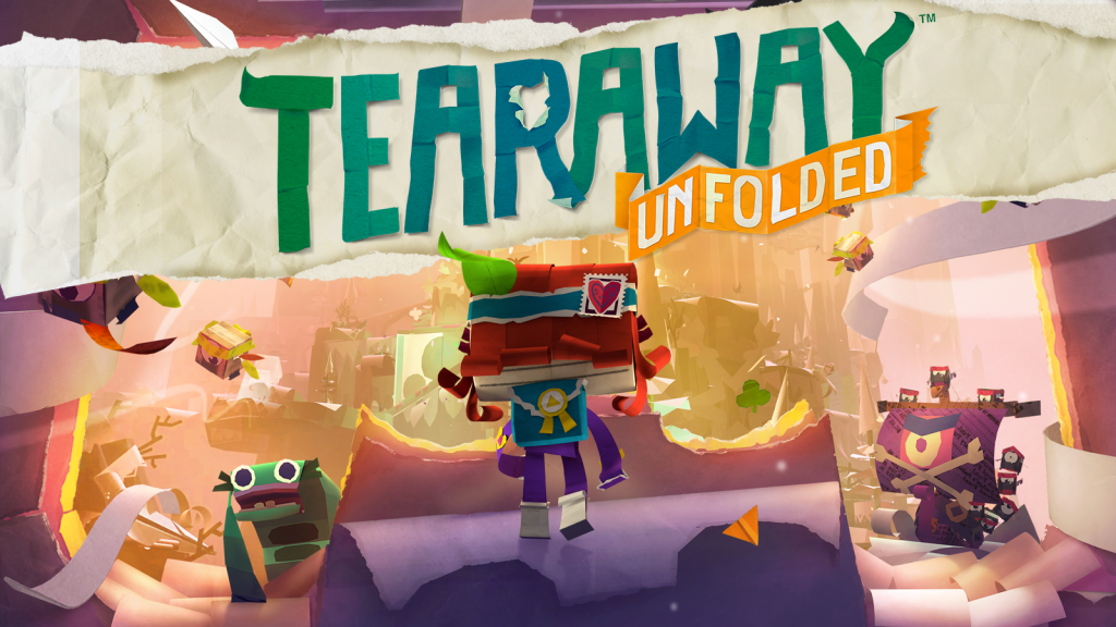 best games for ps4 camera tearaway unfolded