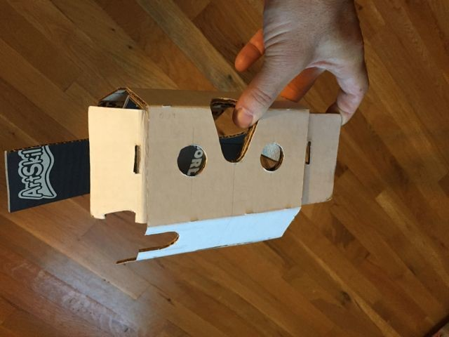 how to make virtual reality goggles step 9