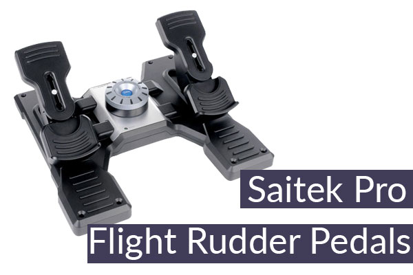 Saitek Pro Flight Rudder Pedals Review 2019