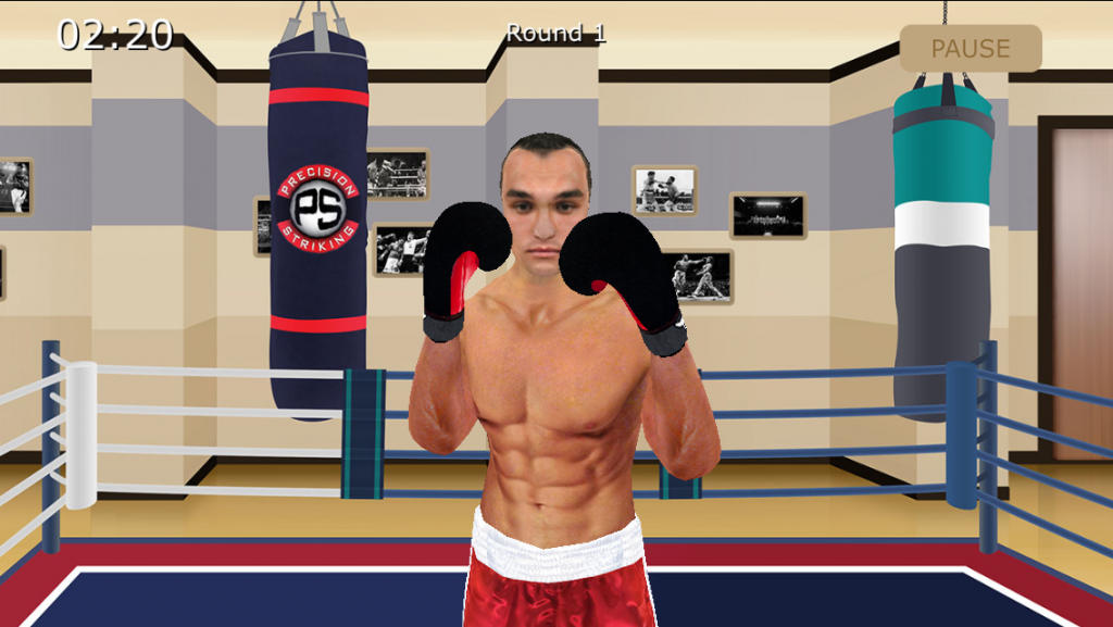 Virtual Reality Martial Arts Training virtual sparring partner