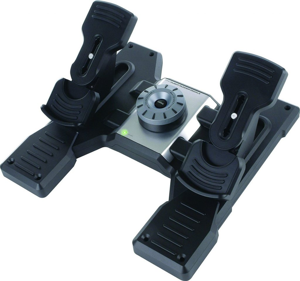 saitek pro flight rudder pedals review pros and cons