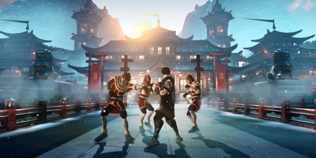 Virtual Reality Martial Arts Training kungfu superstar