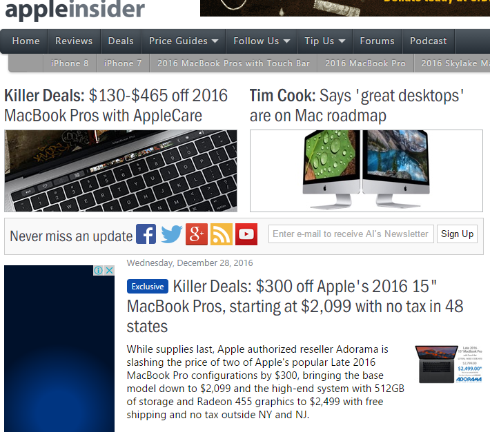 Apple Insider - Best Technology Website