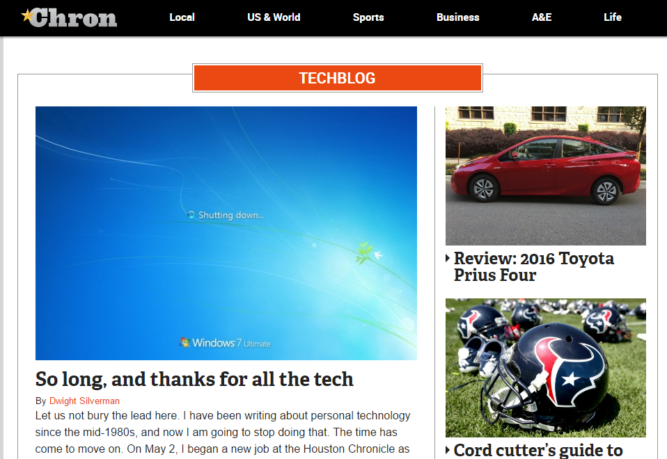 Chron - Best Technology Website
