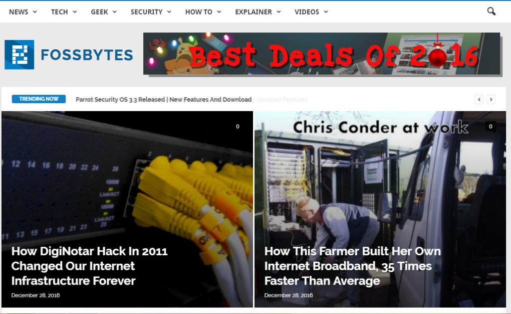 Foss Bytes - Best Technology Website