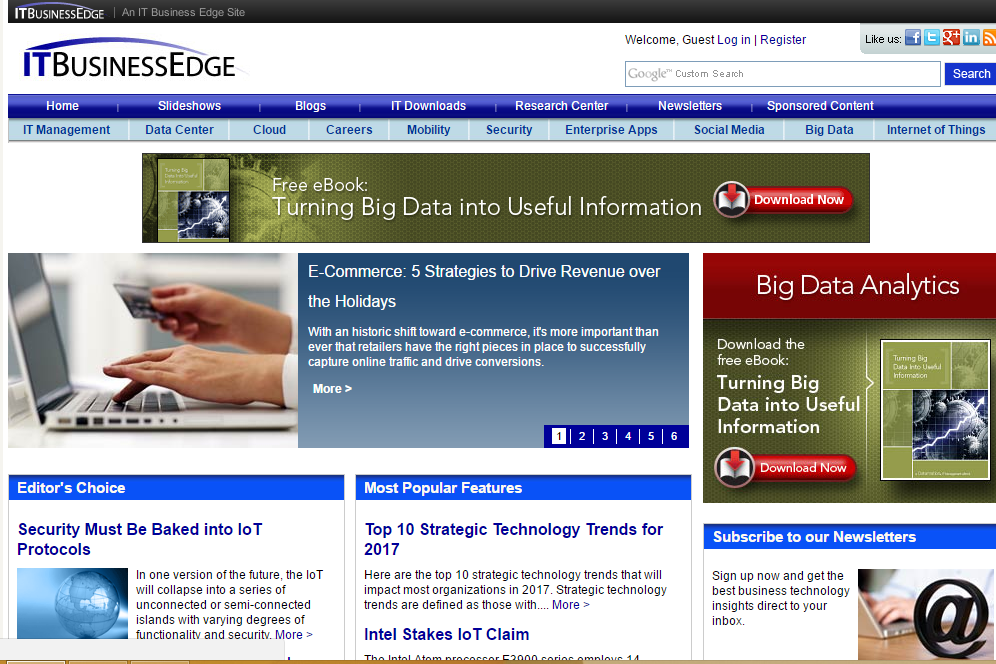 It Business Edge - Best Technology Website