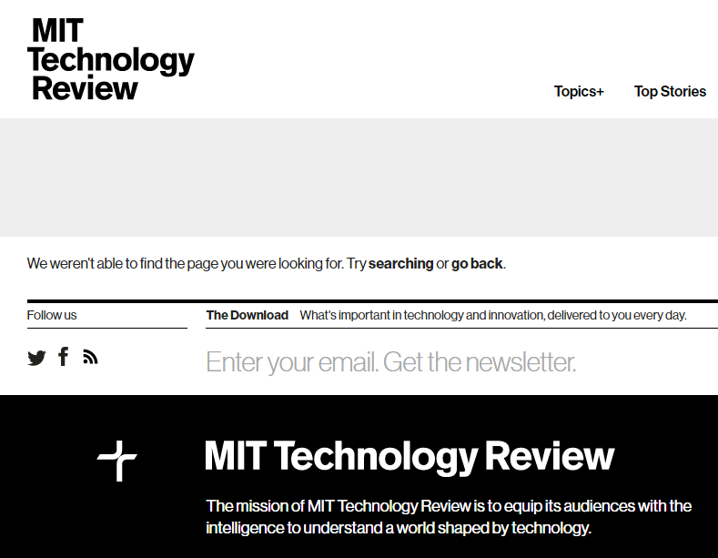 MIT Technology Review - Best Technology Website