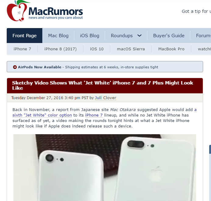 Mac Rumors - Best Technology Website