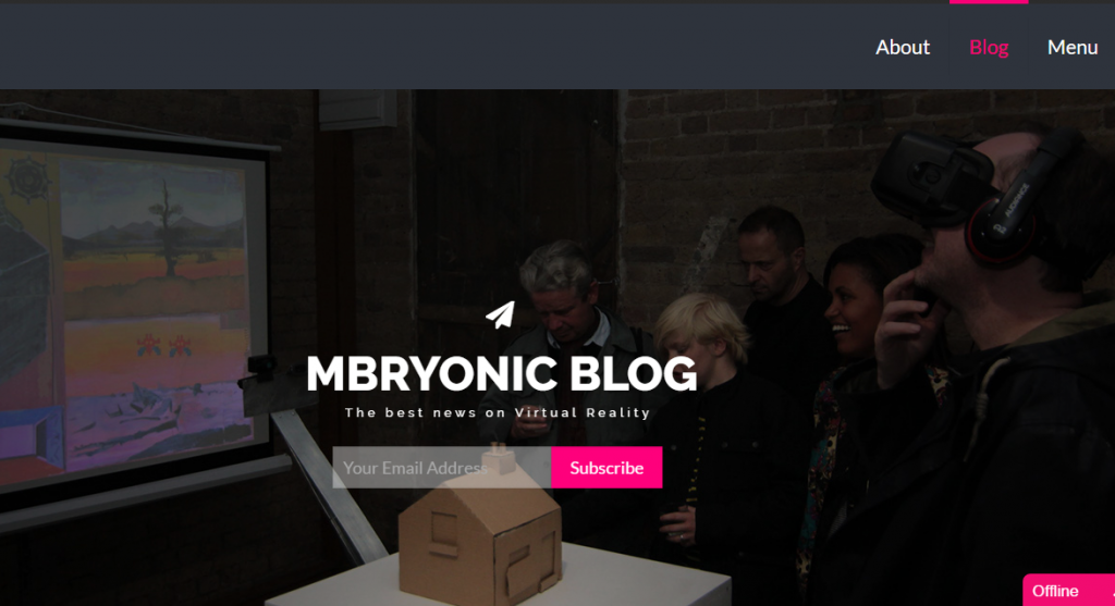 Mbryonic Blog - Best Virtual Reality Websites