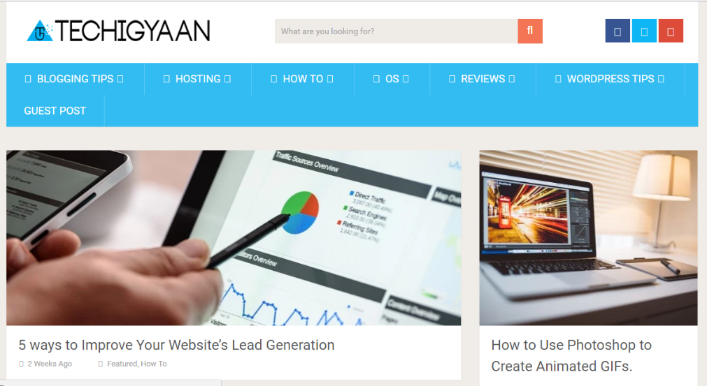 Techigyaan - Best Technology Website