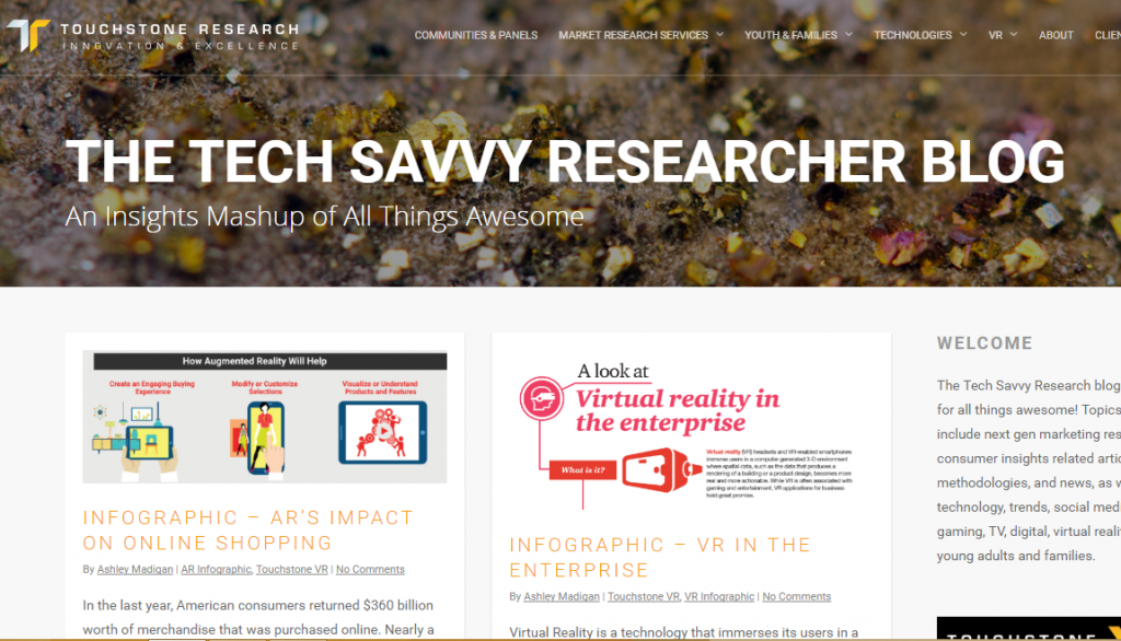 Touchstone Research - Best Virtual Reality Websites