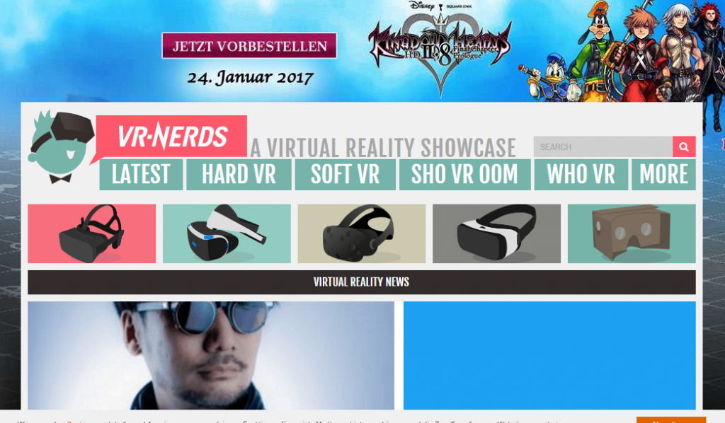 VR Nerds - Best Virtual Reality Websites