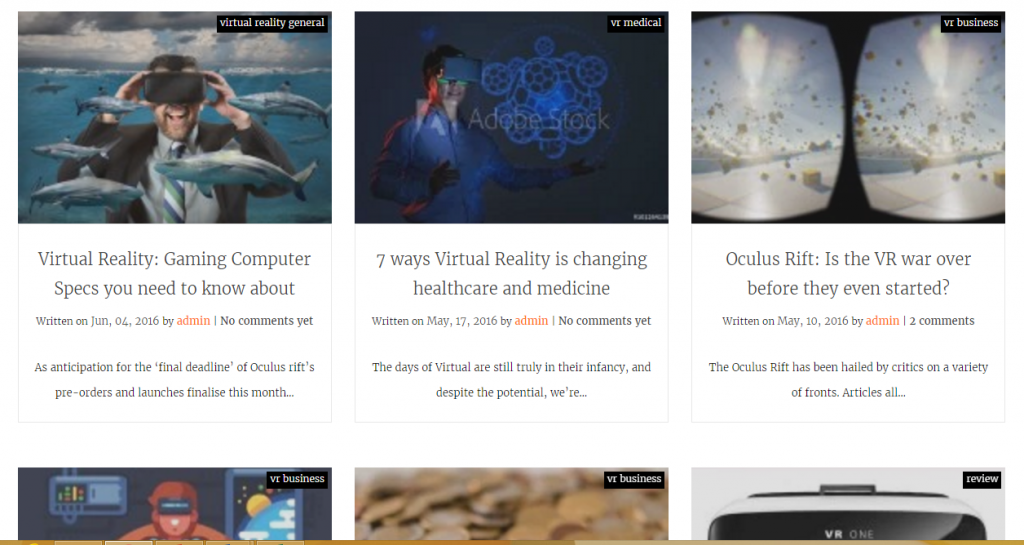 VR Factual - Best Virtual Reality Websites