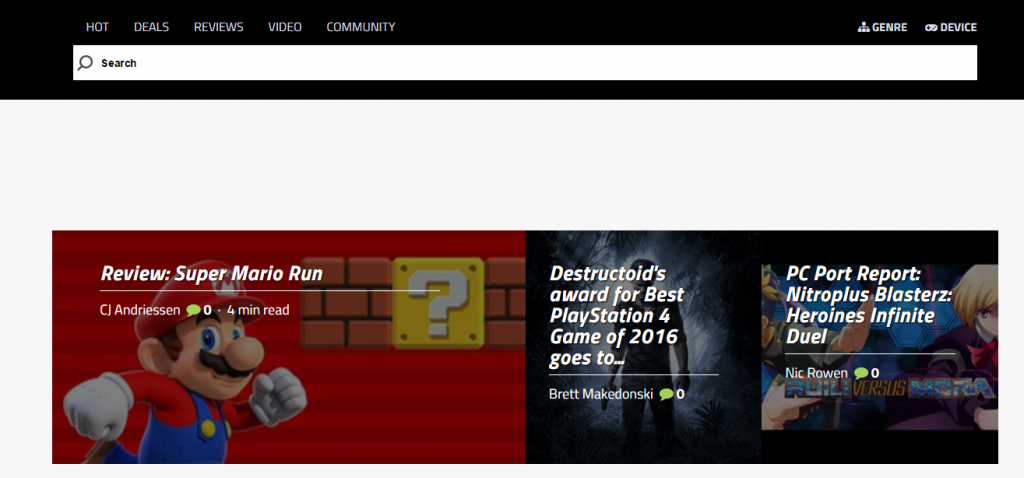 Destructoid - Best Gaming Website