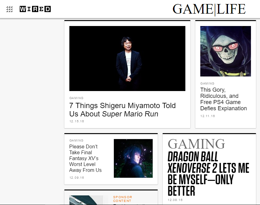Wired - Best Gaming Website