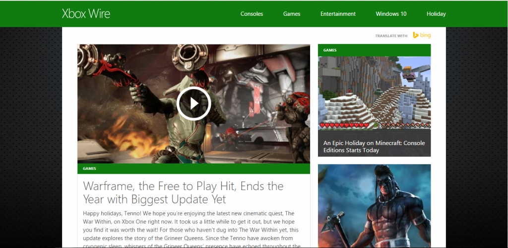 Xbox Wire - Best Gaming Website