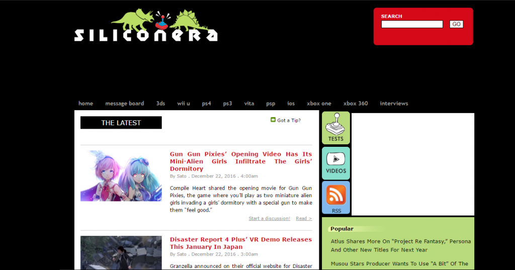 Siliconera - Best Gaming Website