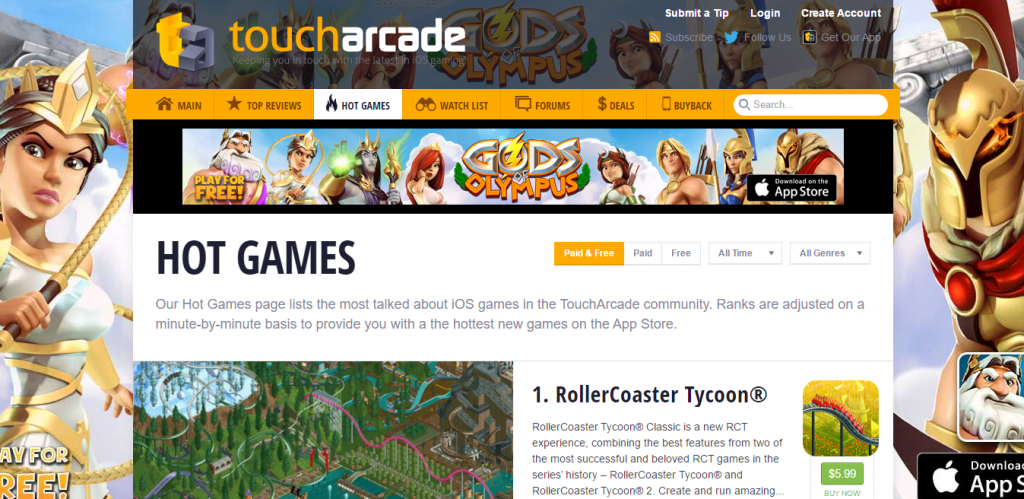 Touch Arcade - Best Gaming Website